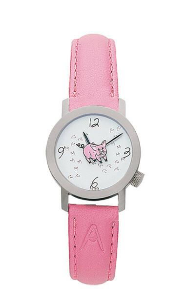 Akteo Horloge Crazy Pig Lady
