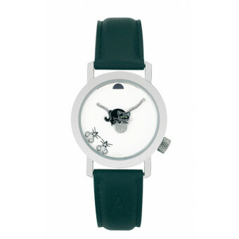 Akteo Horloge Black Cat