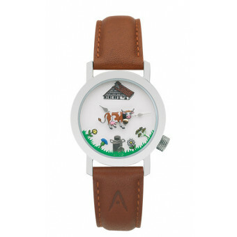 Akteo Horloge Cow Brown