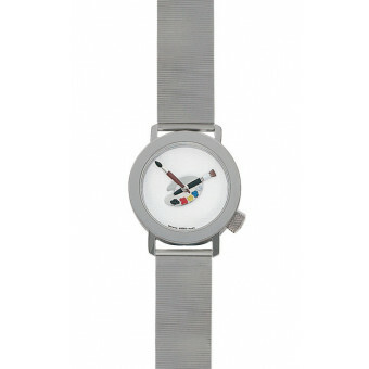 Akteo Horloge Paint 02 Lady Metal