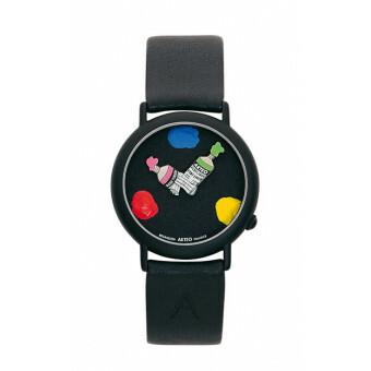 Akteo Horloge  Paint 03 Black