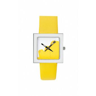Akteo Watch Paint Kubik Lady Yellow